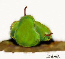 Pair Of Pears by debrosi
