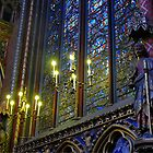 Windows in Ste. Chapelle by NancyR