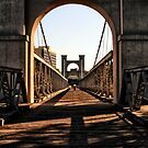 Waco Suspension Bridge by Terence Russell