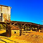 The abandoned ore loading dock at Captain's Flat  by Geoffrey Thomas