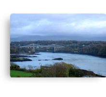 Menai Bridge Canvas Print