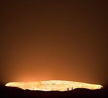 Darvaza, Karakum desert, Turkmenistan by Christopher Herwig
