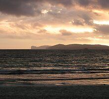 Sardinia Summer Storm by Alex Bonner