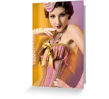30s Glam IV Greeting Card