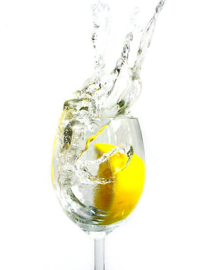 The lemon splash by Caitlin Wynne