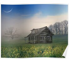 Reminds him of home in Texas! Poster