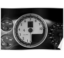 Stratospheric Rev Counter Poster