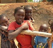 Malawi: children in rural areas by Anita Deppe