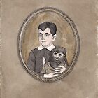 Eddie Munster Vignette by Paul Compton