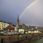 Rainbow over Cobh by brianboyce50
