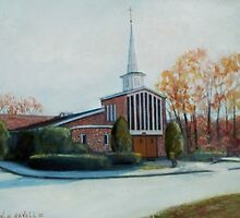 Our Lady Of The Lakes Church by cgret82