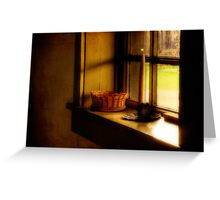 A Light In The Window Greeting Card