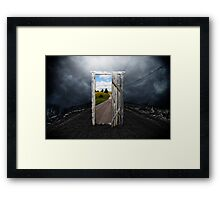 To other world Framed Print