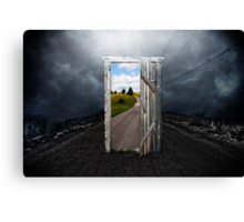 To other world Canvas Print
