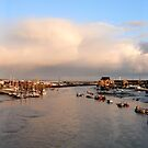 Shoreham Harbour Panorama by mikebov