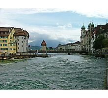 River Reuss Photographic Print