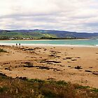 Sandy Stroll - Apollo Bay beach, Victoria, Australia by Rhonda F.  Taylor