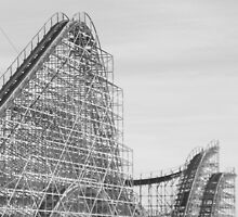 Roller Coaster NJ Shore by schiabor