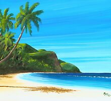 Carombola Beach St. Croix USVI A011 by Matthew Campbell
