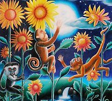 """""""The Moon and the Monkeys"""" by James McCarthy"""
