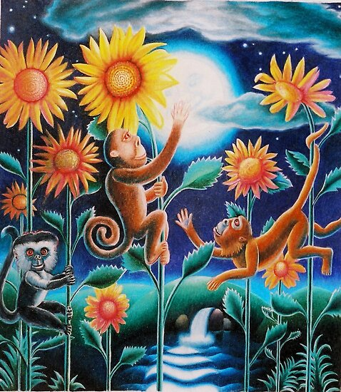 """The Moon and the Monkeys"" by James McCarthy"