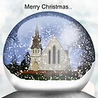 Snow globe Christmas.. by Kristina K