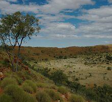 Wolfe Creek Meteorite Crater by Richard  Stanley