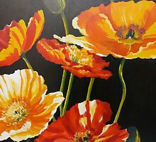 Iceland Poppies by Elizabeth Moore Golding