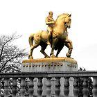 Washington DC Memorial Bridge Statues by bkphoto