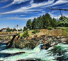 Spokane River by Kody Little