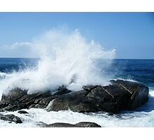the big wave Photographic Print
