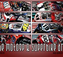 The MotoGP & Superbike Art of Quigonjim by quigonjim