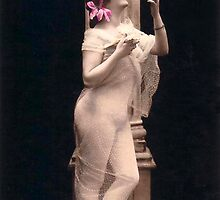 Vintage *Stunning Beauty and her Doves* by VintageMoon
