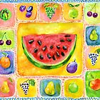Watermelon. by Svetlana Mikhalevich