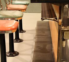 A Lunch Counter in Greensboro by Cora Wandel
