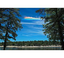 CHA over Harry Wright Lake Photographic Print