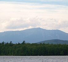 Mount Katahdin. The northernmost point of the Appalachian Trail. by William Brennan