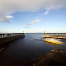Whitby - Harbour Entrance by PaulBradley