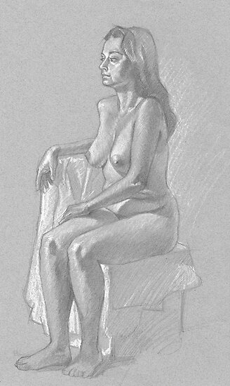 Life drawing 2 by Jim rownd