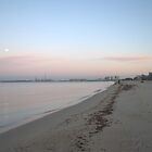 Early morning Beach Walk by Helen Greenwood