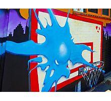 'Splatt' -Graffiti Photographic Print