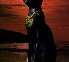 Goddess Bastet by Evita