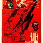 Blake&#x27;s 7 tribute Liberator Soviet style Poster by MarkYoung