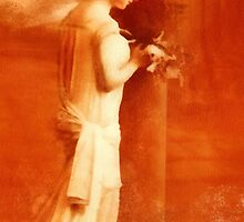 sepia lady by cynthiab