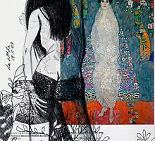 Wilde About Klimt 3 by Lee Wilde