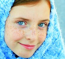 Blue Eyed Girl  #2 by Heather Rampino