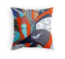 reaching for raven 2 high tides Throw Pillow