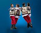 Ukrainian Dancers-Arkan by Yuri Lev