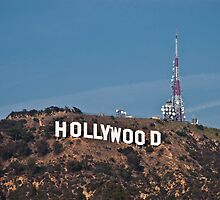 Hollywood Sign by marz808