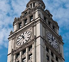 Tribune Clock Tower by marz808